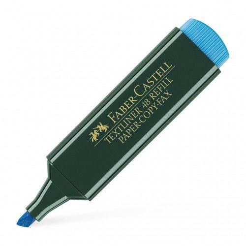 Zakreślacz FABER CASTELL Textliner 48 niebieski 154851