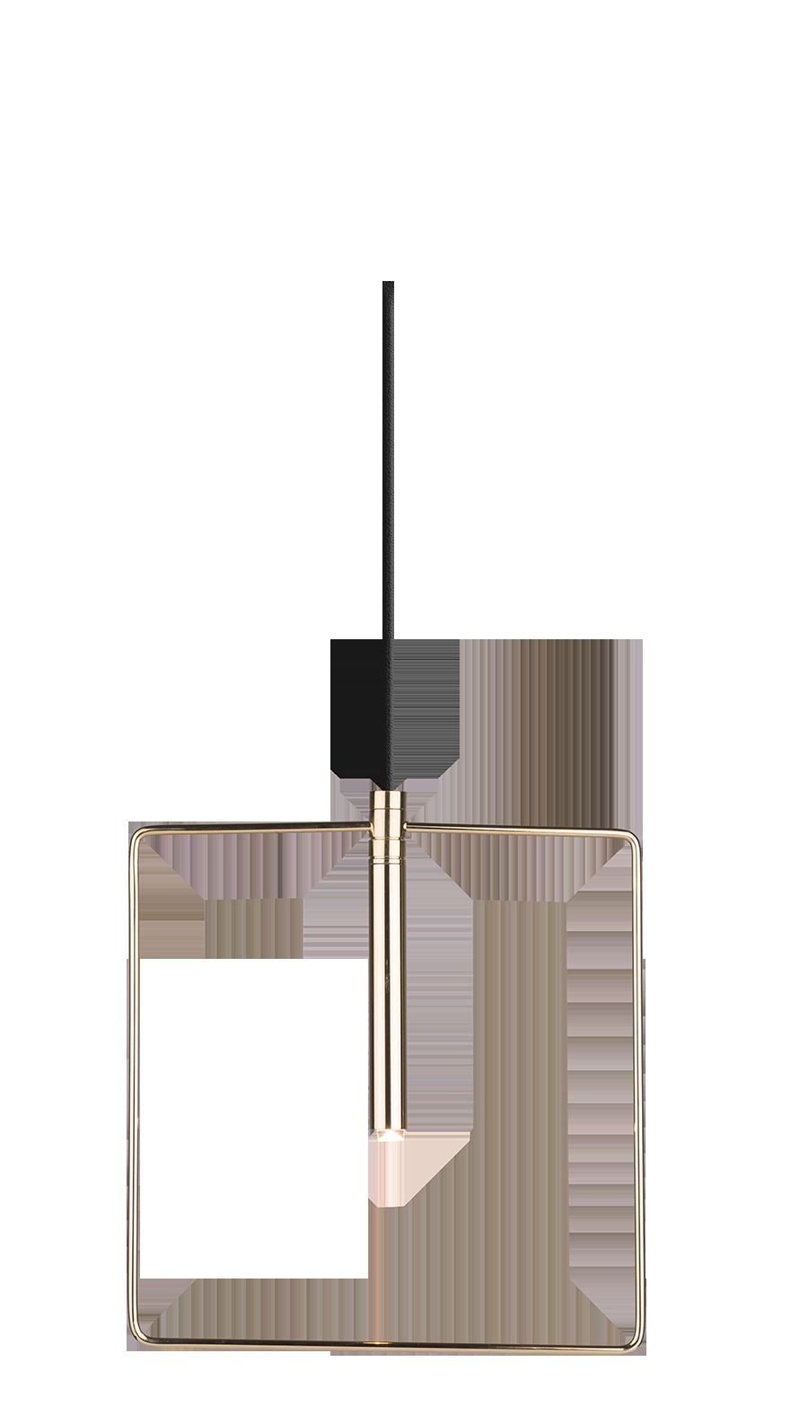 Lampa wisząca Faro 1 Złoty 0544 - Amplex // Rabaty w koszyku i darmowa dostawa od 299zł !