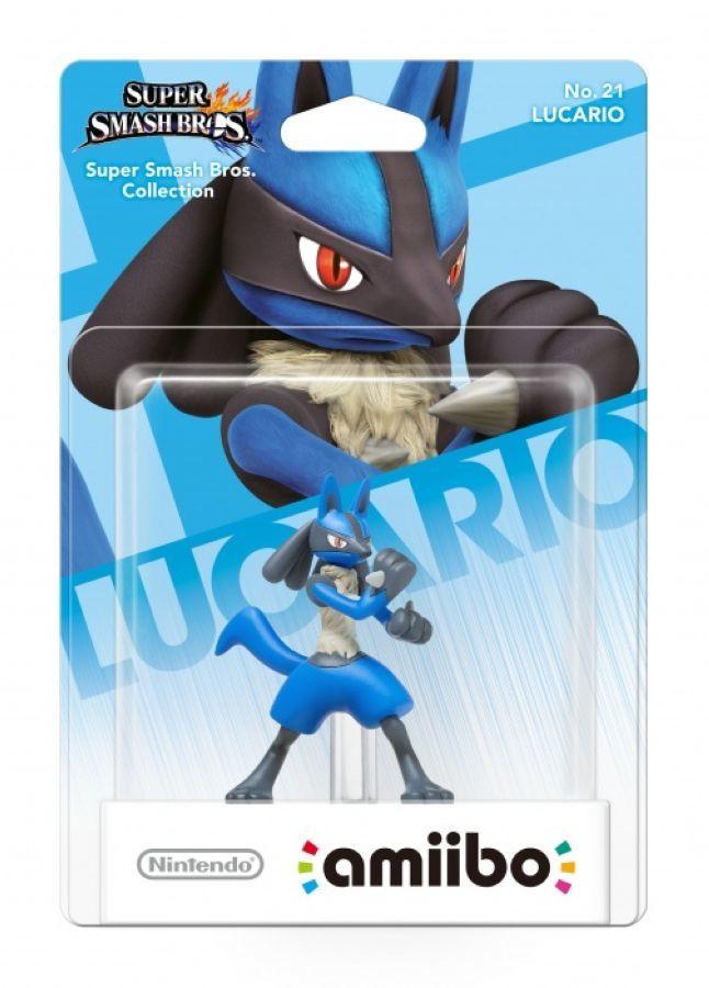 Figurka Amiibo Smash Lucarino