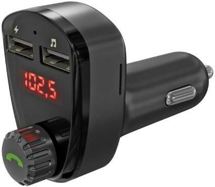 Arkas G13 Transmiter FM Bluetooth z ładowarką USB - szybka wysyłka!