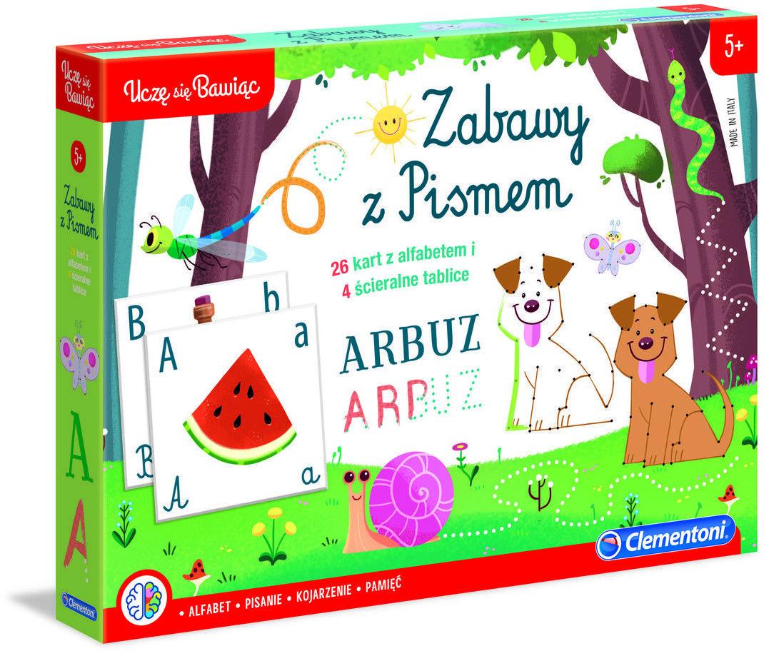 Clementoni, zabawka edukacyjna Zabawy z Pismem