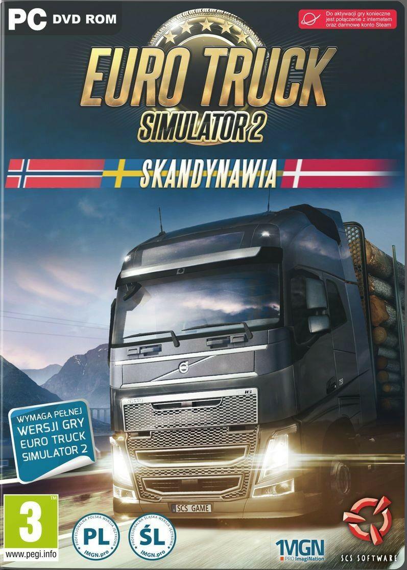 Euro Truck Simulator 2: Skandynawia PL (Digital - klucz Steam)