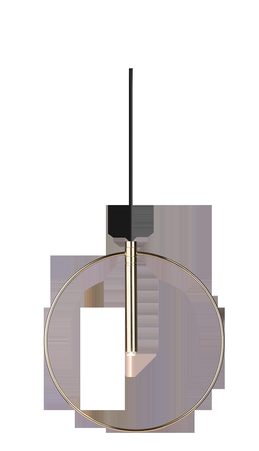 Lampa wisząca Faro 1 Złoty 0553 - Amplex // Rabaty w koszyku i darmowa dostawa od 299zł !