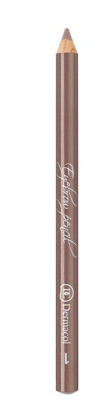 Dermacol - Eyebrow Pencil - Kredka do brwi ze szczoteczką - 1