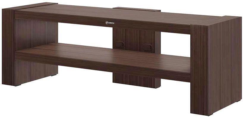 Brązowy stolik pod telewizor - Nepo 3X