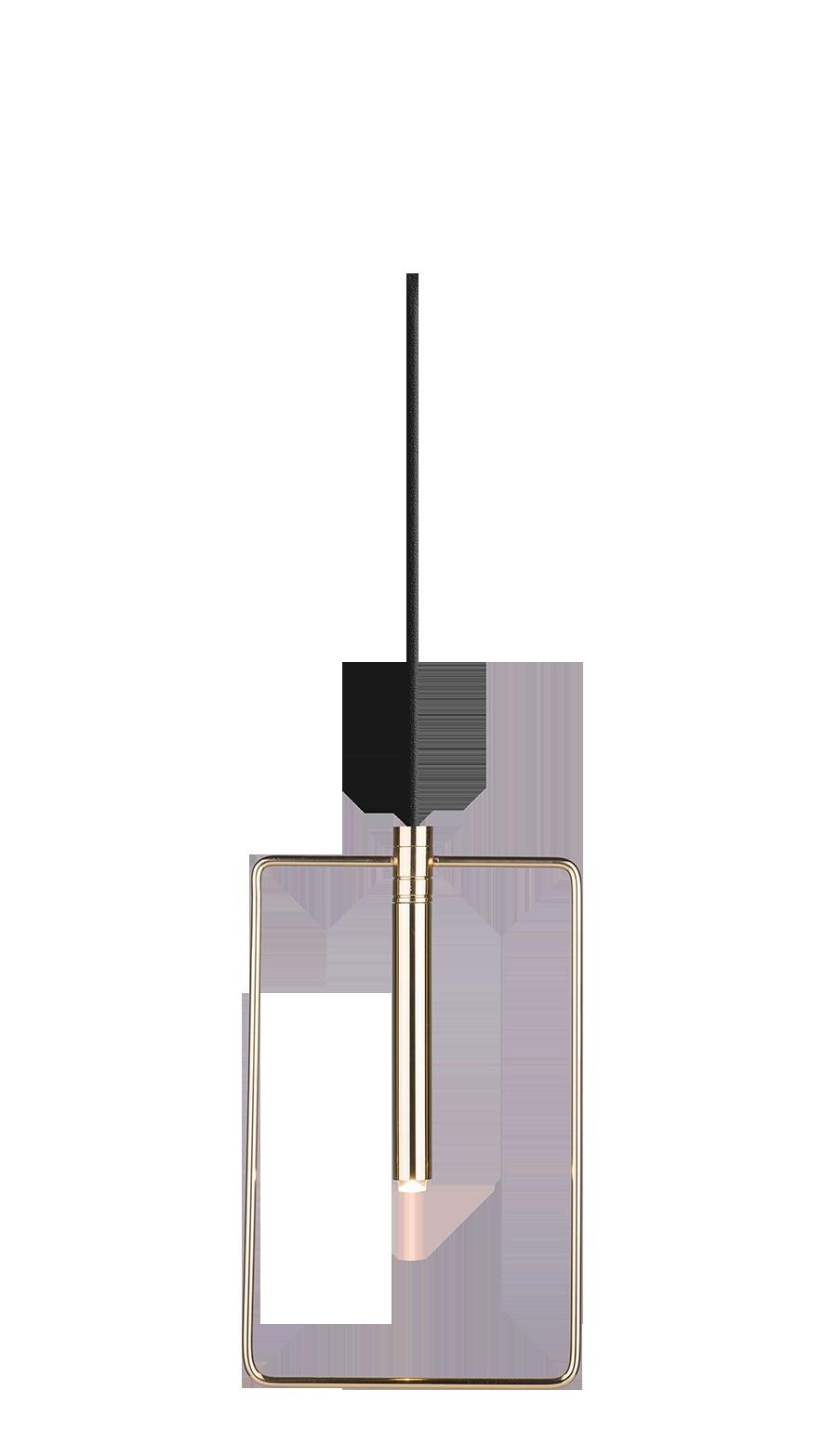 Lampa wisząca Faro 1 Złoty 0545 - Amplex // Rabaty w koszyku i darmowa dostawa od 299zł !