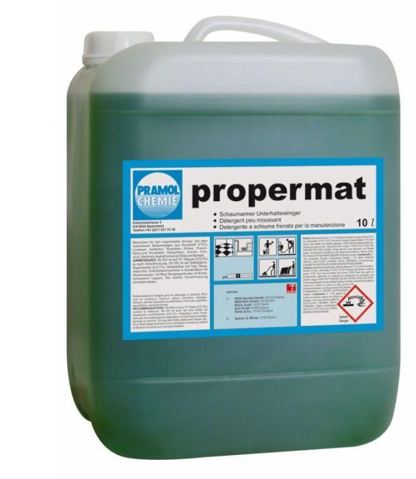 Propermat - Mycie powierzchni wodoodpornych