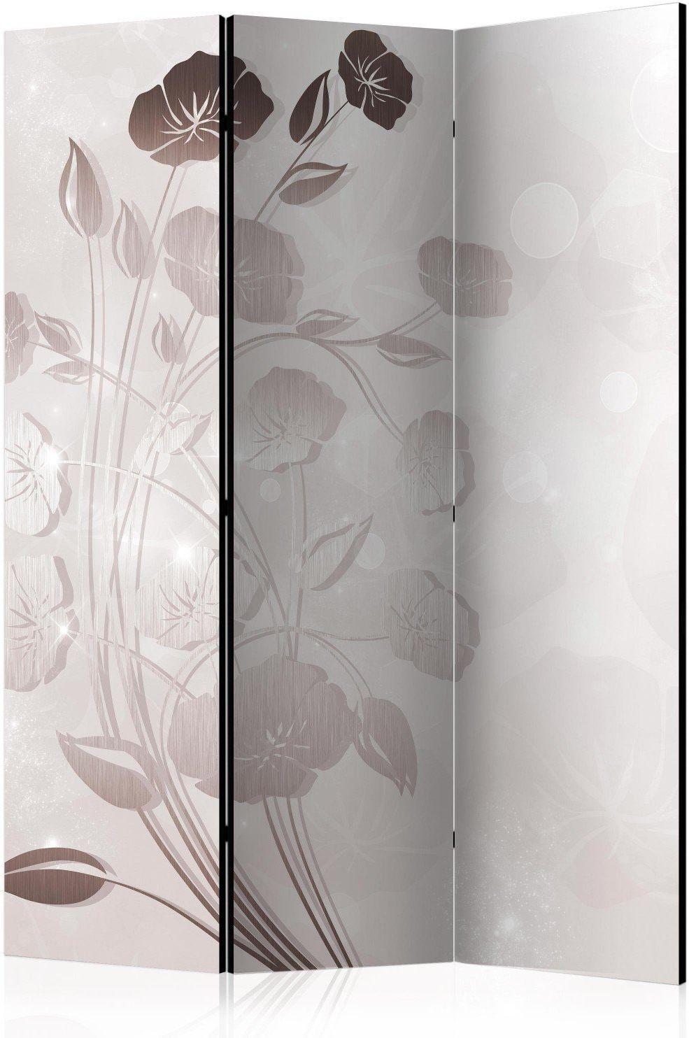 Parawan 3-częściowy - delikatność kwiatów [room dividers]