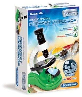 Clementoni - Mój pierwszy mikroskop 60761