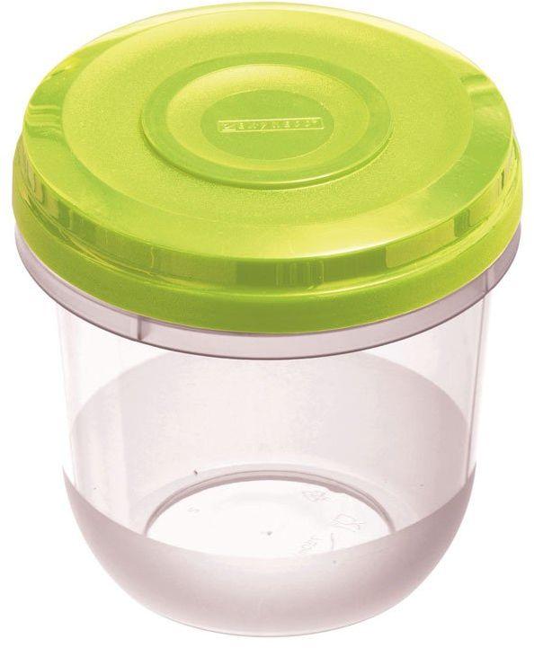 Dajar Pojemnik do kuchenki mikrofalowej Fusion Fresh Limette 0,75 l, tworzywo sztuczne, przezroczysty zielony, 11 x 11 x 11,5 cm