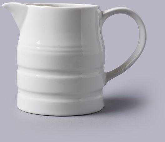 Dzbanek do mleka 1 l - porcelanowy