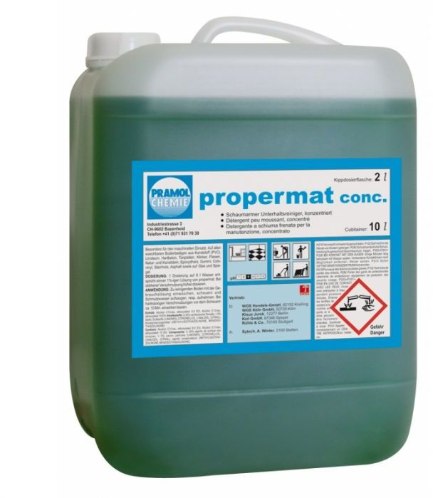 Propermat Super Koncentrat - Ogólne mycie powierzchni wodoodpornych