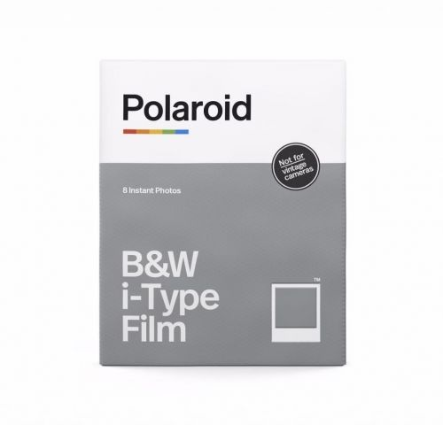 Wkłady Polaroid i-Type B&W (8 zdjęć) do aparatu OneStep, OneStep+, Now