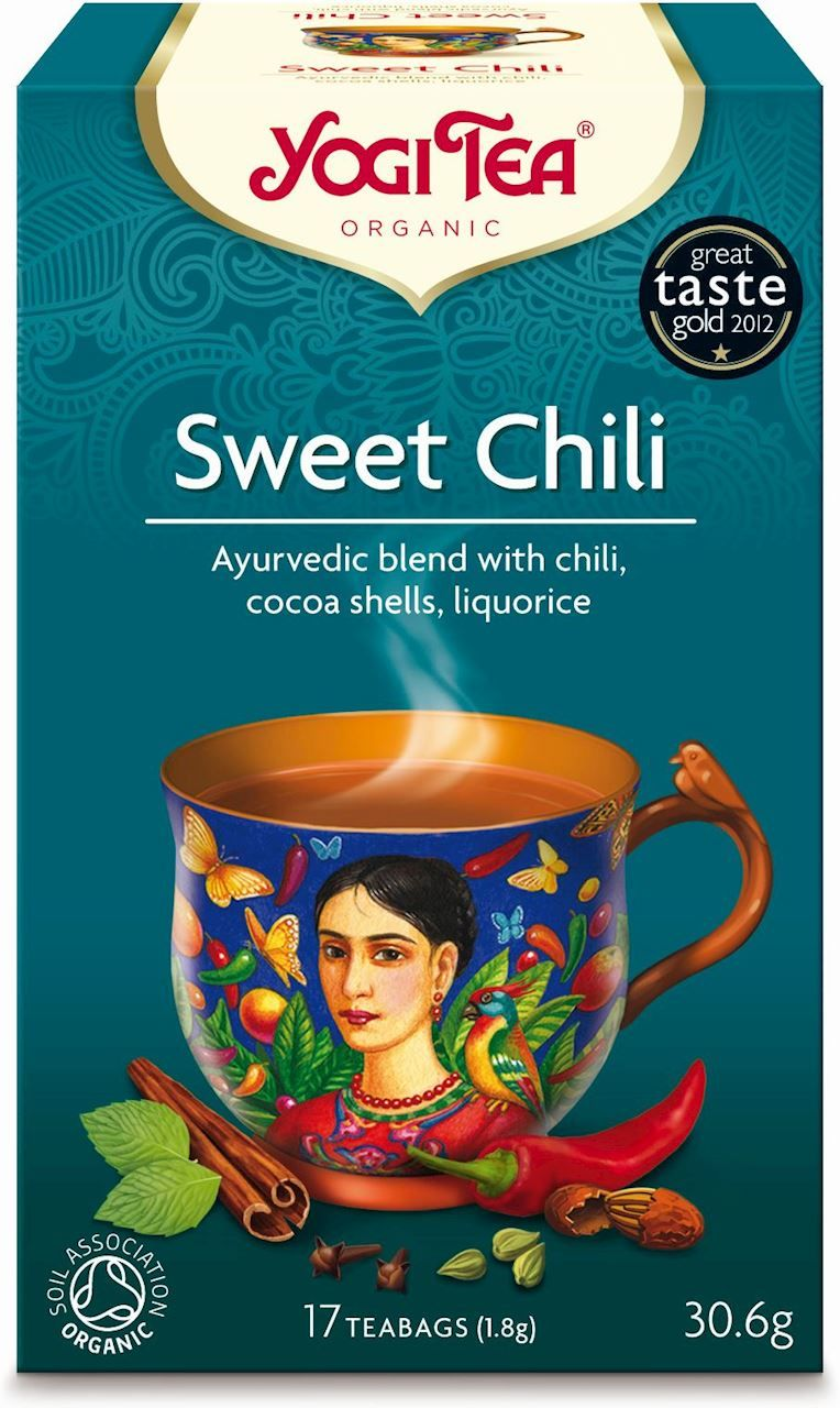 Herbatka Słodkie Chili BIO 31g - Yogi Tea