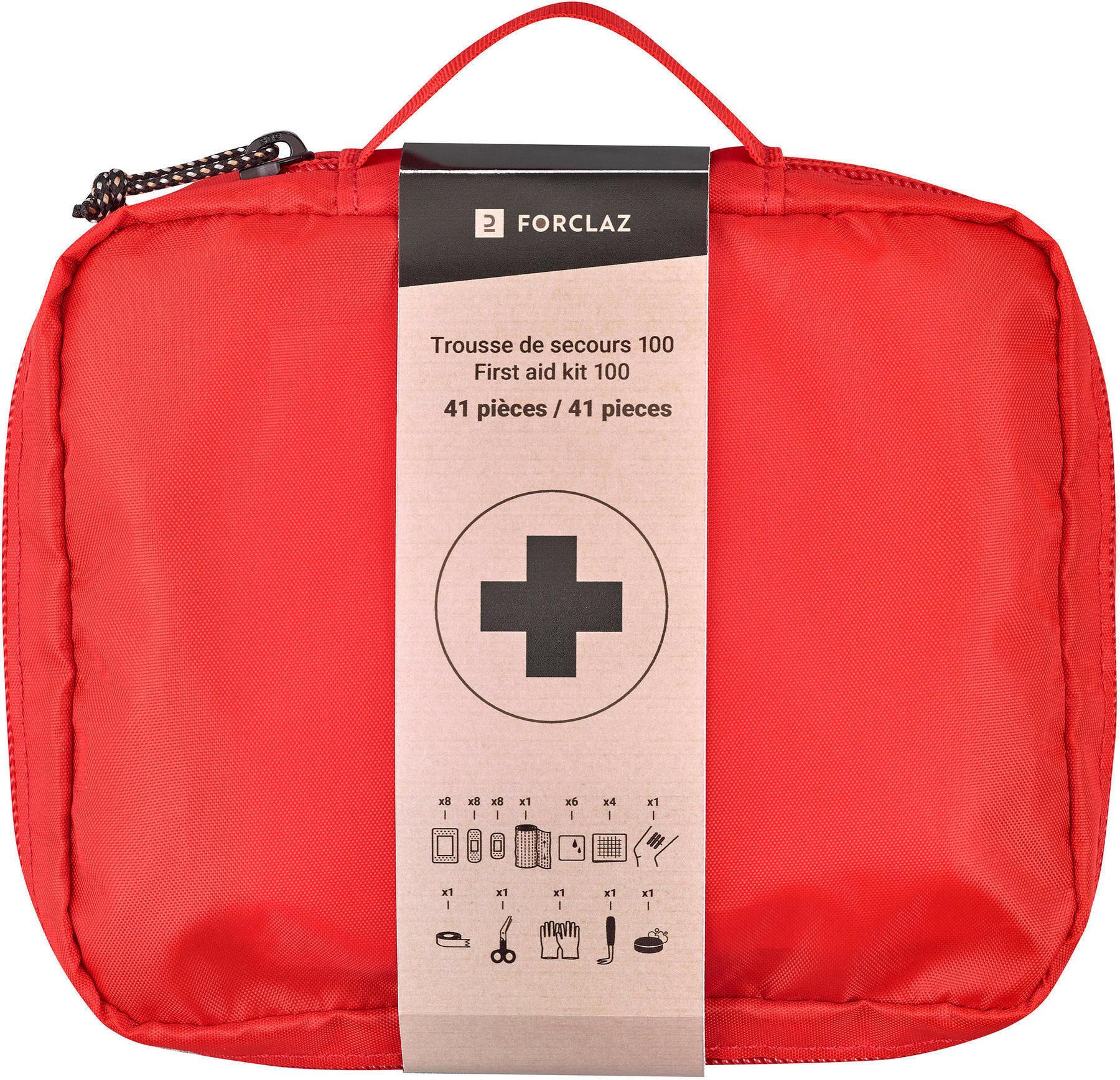 Apteczka zestaw pierwszej pomocy- 41 sztuk