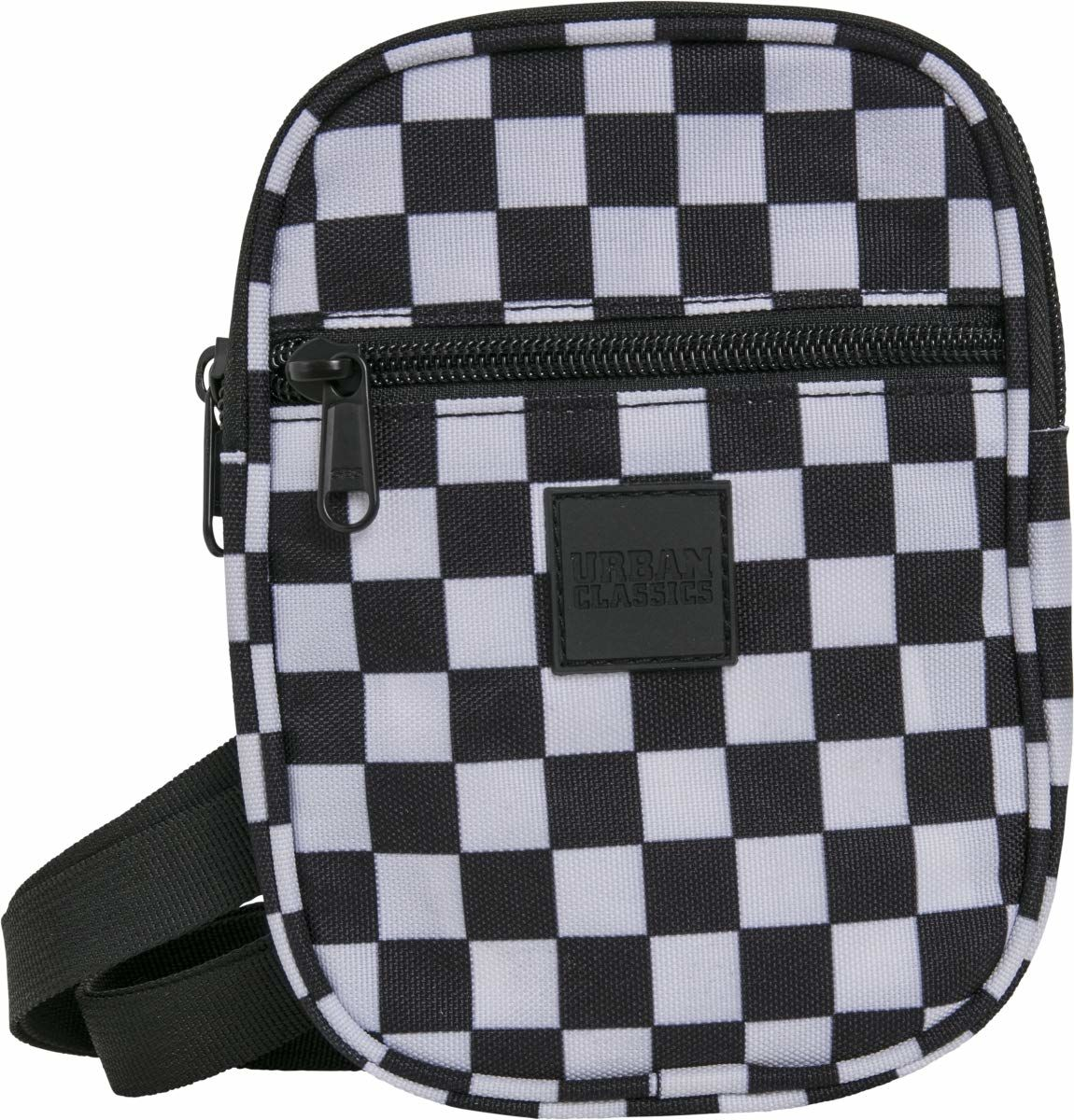 Urban Classics Festival Bag Small torba na ramię, 19 cm, czarny/biały (wielokolorowa) - TB2145