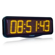 Zegar naścienny z wyświetlaczem LED 10cm #3