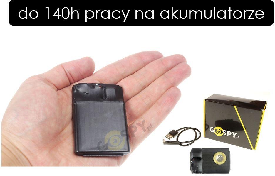 Profesjonalny dyktafon pluskwa MKX-100 8GB VOS