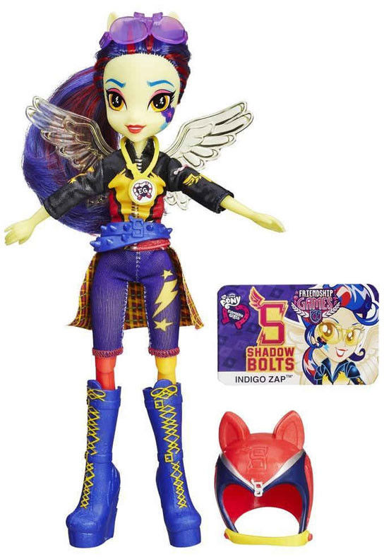 My Little Pony Equestria Girls - Friendship games Indigo Zap B3779 B1772