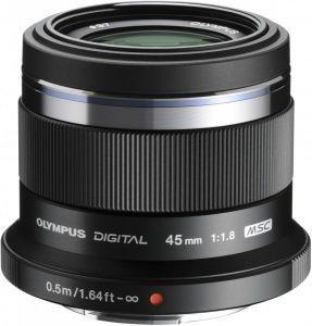 Obiektyw Olympus M. Zuiko Digital 45 mm f/1.8 micro 4/3 black