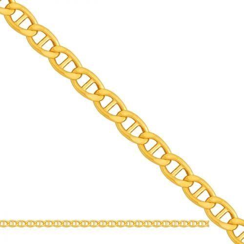 Złoty łańcuszek Dmuchany Gucci Ld041