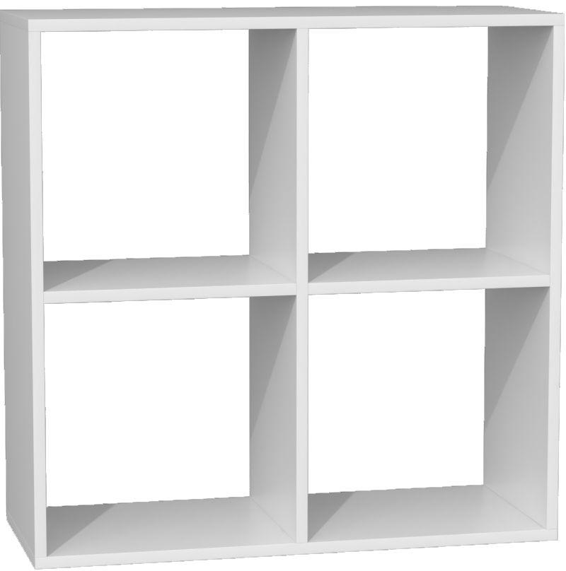 Biały regał biurowy - Luvis 5X