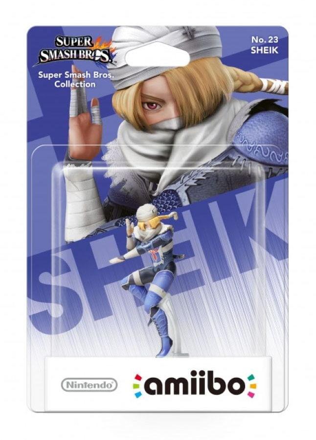 Figurka Amiibo Smash Sheik