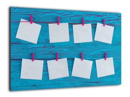 Obraz szklany PLANER NOTATKI 90x60cm ozdobna szklana tablica magnetyczna