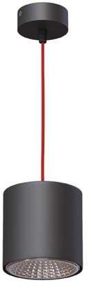 Lampa wisząca Tito B7 różne kolory Cleoni nowoczesna oprawa w kształcie walca