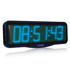 Zegar naścienny z wyświetlaczem LED 10cm #4
