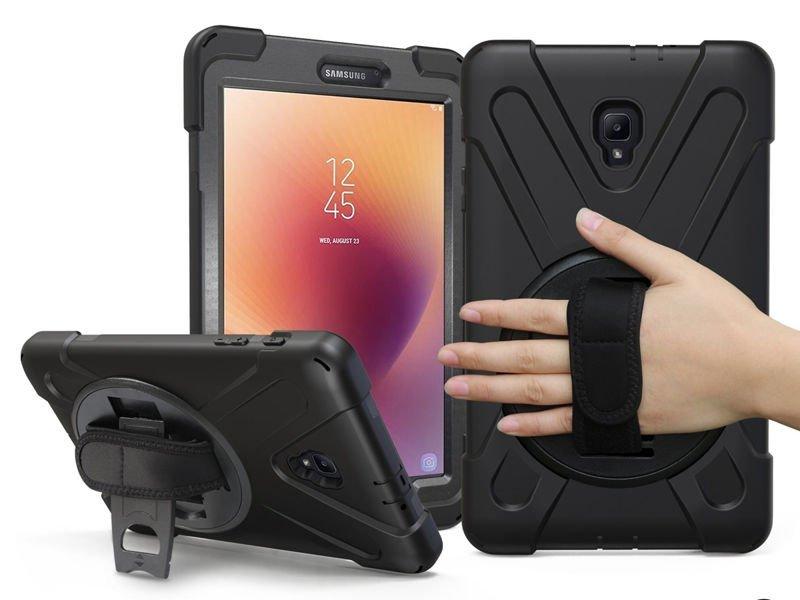 Etui Alogy Pirate Armor do Samsung Galaxy Tab A 8.0 T380/T385 z rzepem