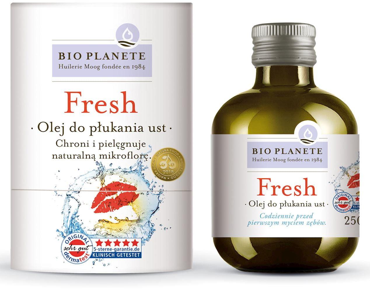 Olej do płukania ust 250 ml - bio planete