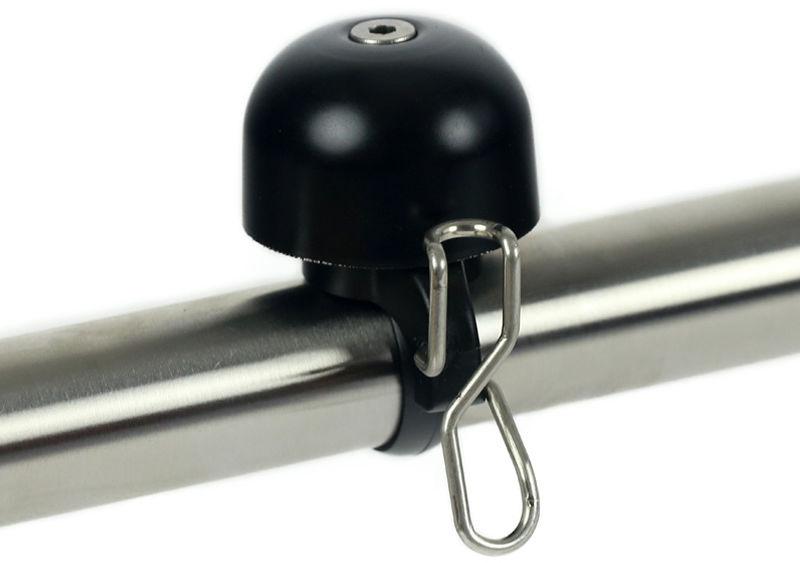 Dzwonek rowerowy WIDEK PAPERCLIP MINI czarny WDK-004274,8712864742744