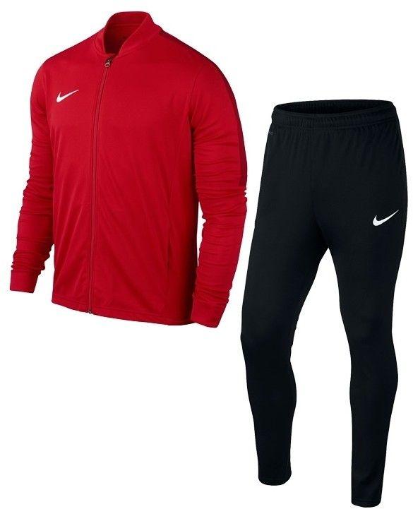 Dres treningowy Nike Academy 16 Junior 808760 657 czerwono-czarny Rozmiar odzieży: M