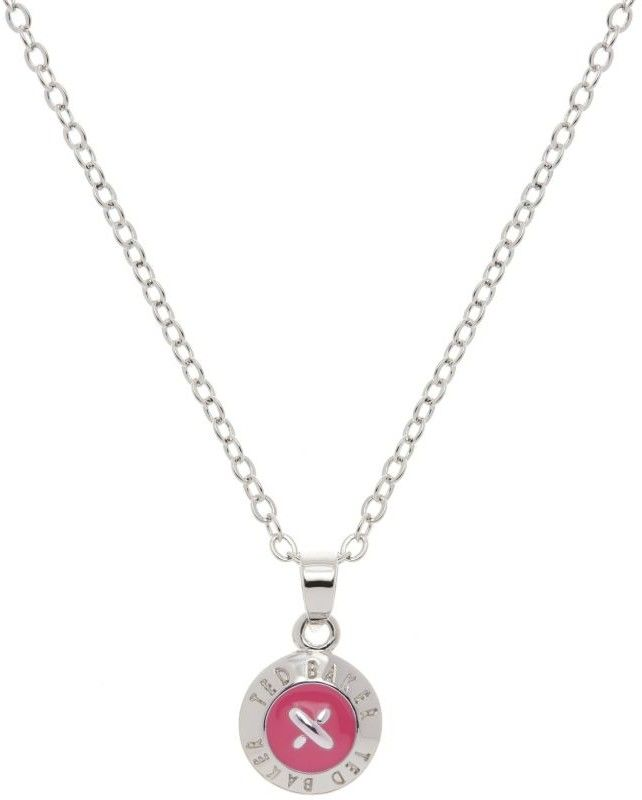 Biżuteria damska Ted Baker Jewellery Elvina Enamel Mini Button Pendant Necklace TBJ1260-01-92