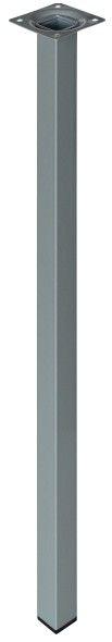 Noga kwadratowa Stahl 800 mm szara