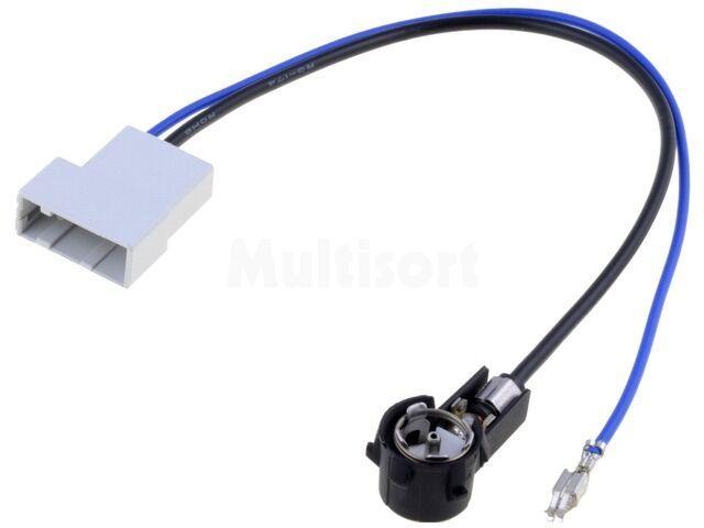 Wtyk adapter antenowy ISO Honda