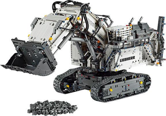 Klocki Technic Koparka Liebherr R 9800 Excavato