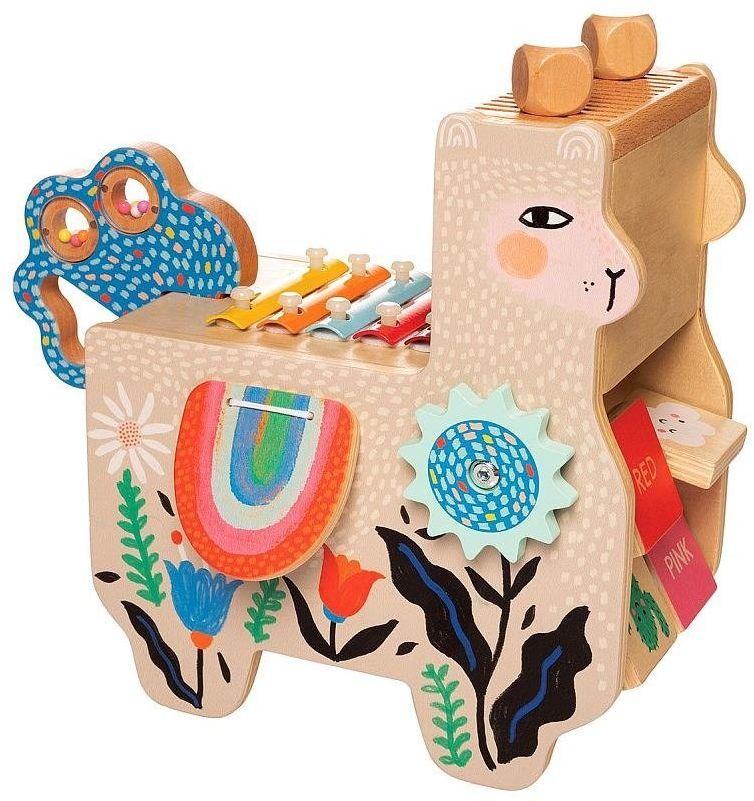 Kostka edukacyjna Lili Lama 217120-Manhattan Toy, instrumenty dla dzieci