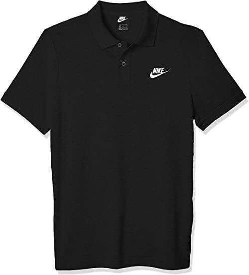 Nike Męska koszulka polo Sportswear czarny czarny/biały M