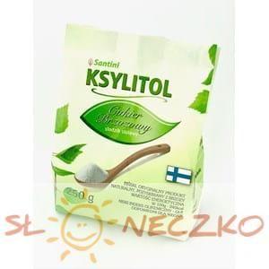 KSYLITOL 250 g (torebka) - SANTINI (FINLANDIA)