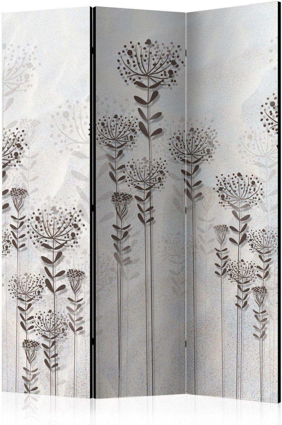 Parawan 3-częściowy - zimowy ogród [room dividers]