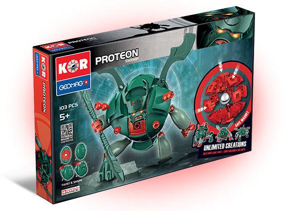 GeoMag KOR Klocki magnetyczne - Proteon Swomp 103 el. 632