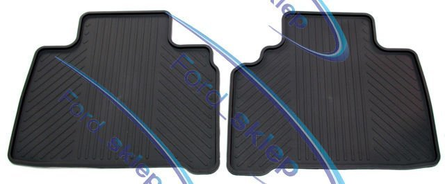 dywaniki gumowe Galaxy  S-Max - 2 rząd - Ford oryginał