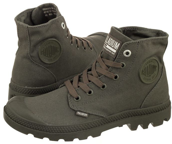 Trampki Palladium Mono Chrome Olive Night 73089325 (PA33-c)