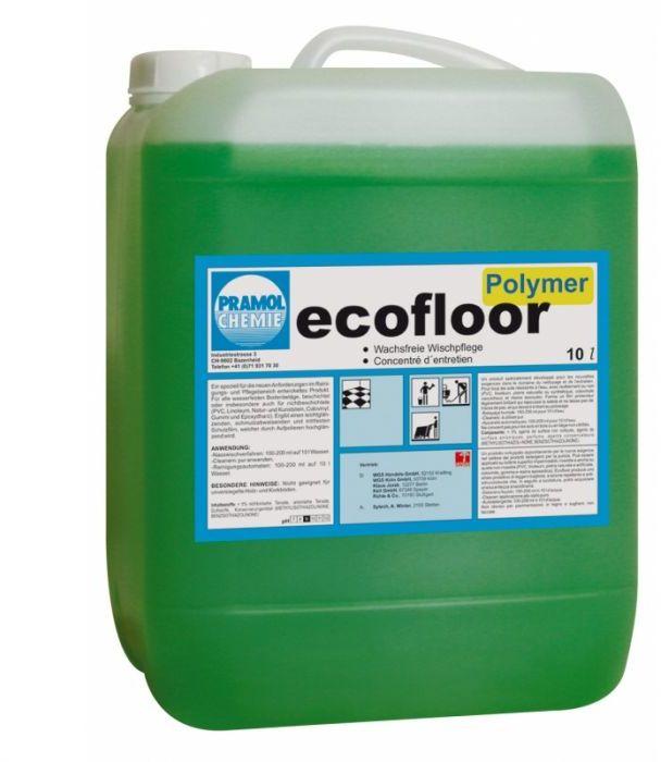 Ecofloor Polymer - Nabłyszczanie holi i korytarzy w szkołach