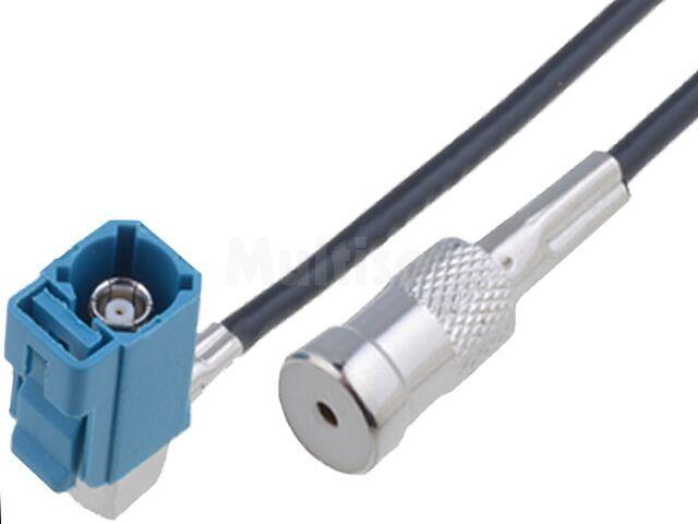 Adapter antenowy Fakra gniazdo, ISO gniazdo 0,25m VW