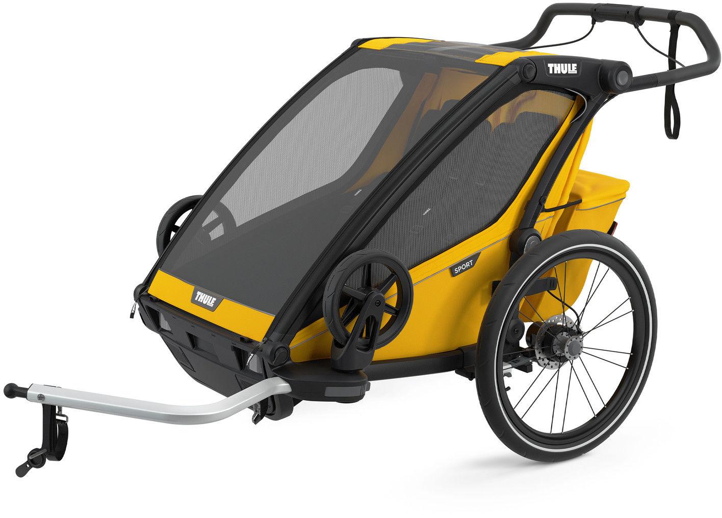 Thule Chariot Sport2 przyczepka rowerowa SpeYellow - żółto/czarna