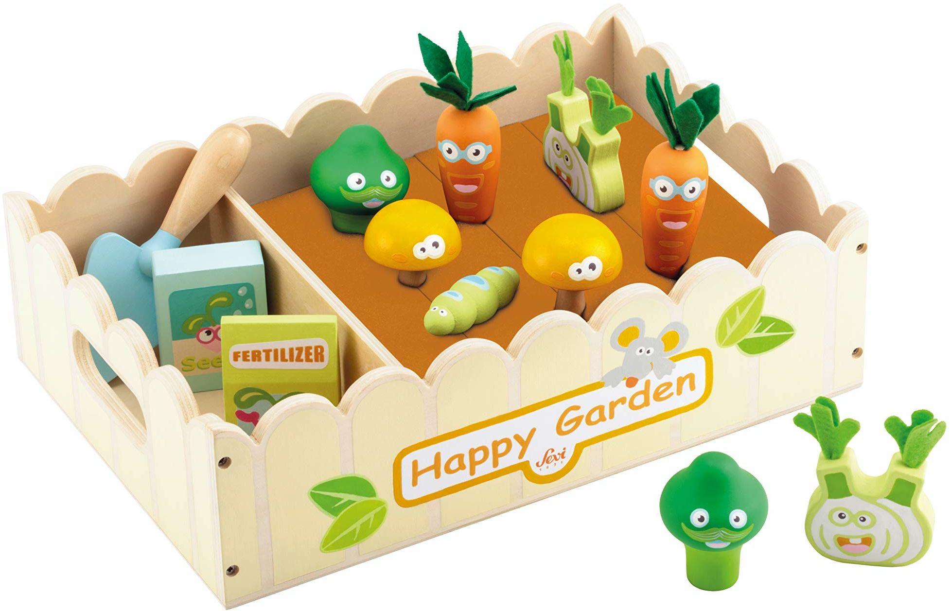 Trudi 83072 zestaw ogródka warzywnego, wielokolorowe