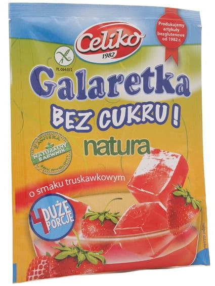 Galaretka truskawkowa bez cukru - Celiko - 14g